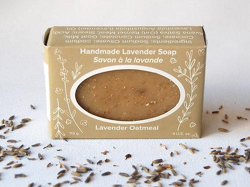 Lavender Oatmeal Soap | Seafoam Lavender Co.