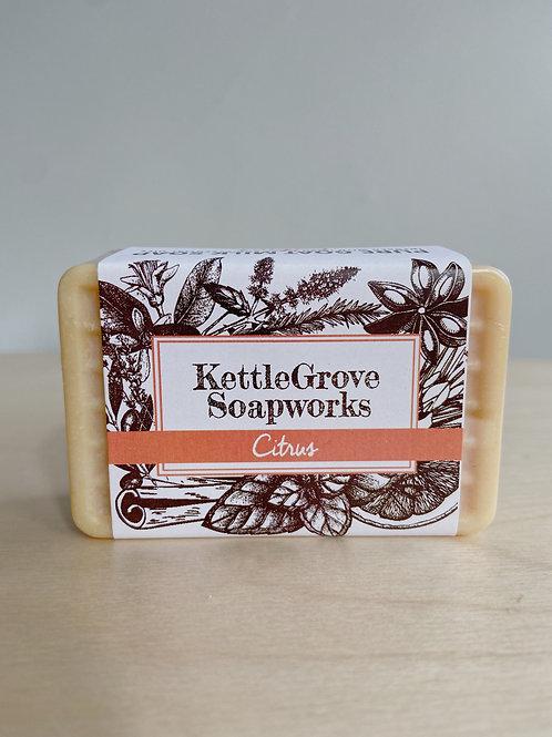 Citrus Goat Milk Soap | Kettlegrove Soapworks