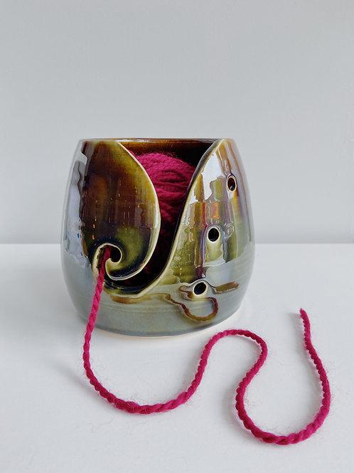 Marshland Yarn Bowl | Sea Winds Pottery
