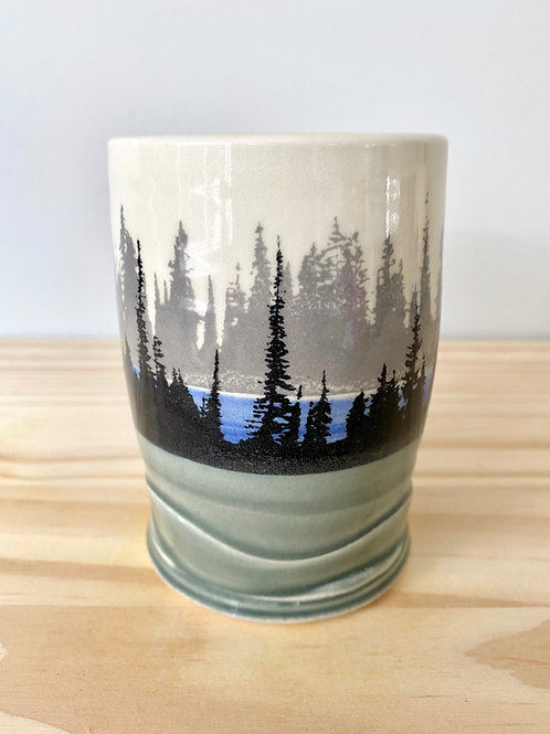 Foggy Forest Tumbler | Eastwood Pottery