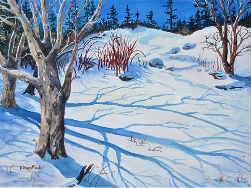 Winter Sun- Original Painting | Pat Shattuck