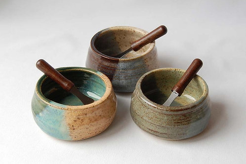 Pate Dish + Spreader | Postma Pottery