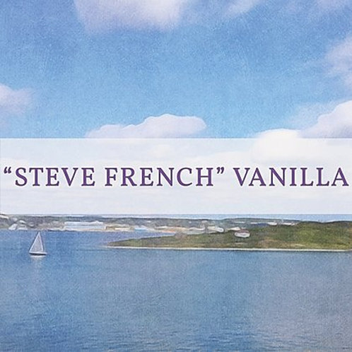 """Steve French"" Vanilla Candle 