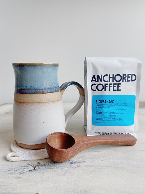 The Coffee Addict | Old Barn Pottery | Gift Set