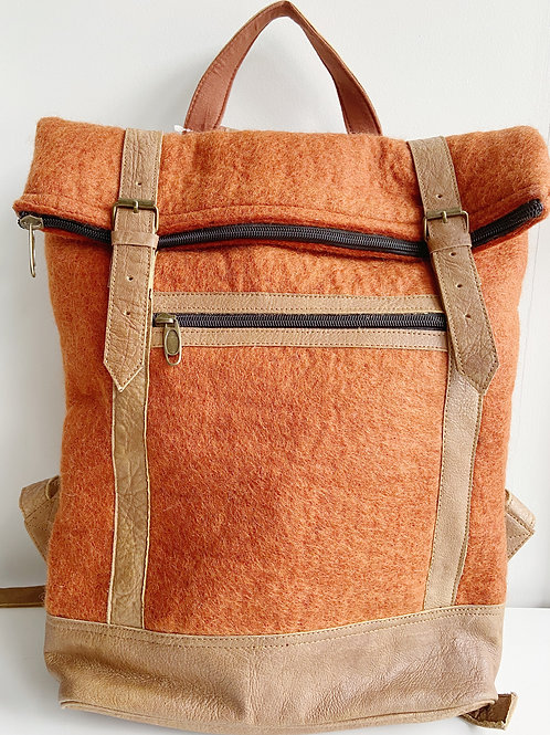 The Essential Backpack- Terracotta | Fibres of Life