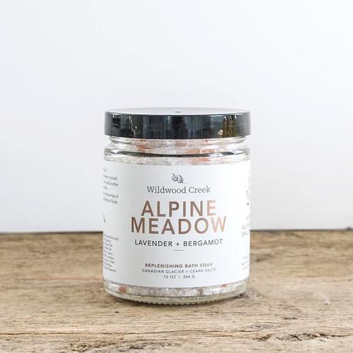 Alpine Meadow Botanical Bath Salt Soak | 10oz | Wildwood Creek