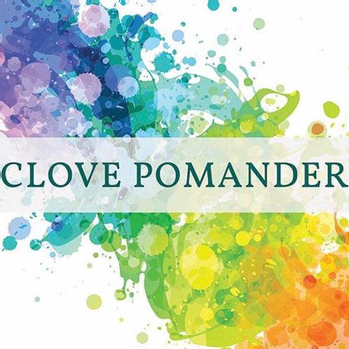 Clove Pomander Candle | New Scotland Candle Co.