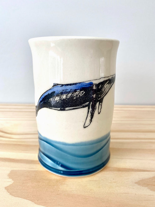 Whale Tumbler   Eastwood Pottery