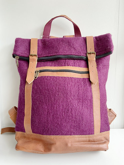 The Essential Backpack- Peony | Fibres of Life