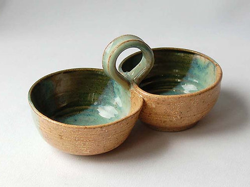 Double Condiment Dish | Postma Pottery