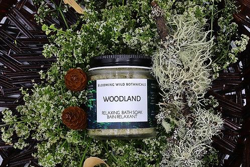 Woodland Forest Bath Soak -4oz | Blooming Wild Botanicals