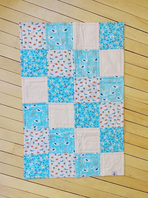 Swans + The Garden Quilt | RoseBay Quilts