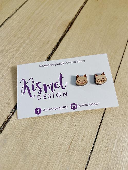 Cat Earrings   Kismet Design