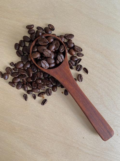 Roasted Maple Wooden Coffee Scoop | PEI Wooden Spoon Co.