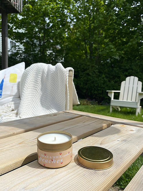 Peaches Candle | Circle & Wick Candle Co.