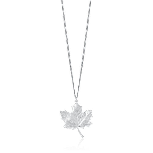 Maple Leaf Necklaces | Amos Pewter