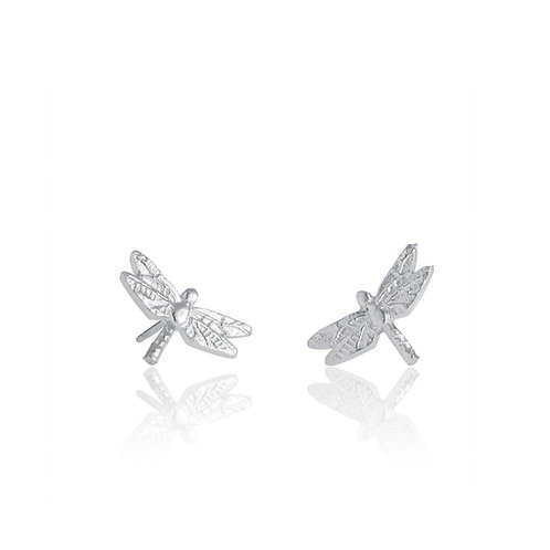 Dragonfly Earrings | Amos Pewter