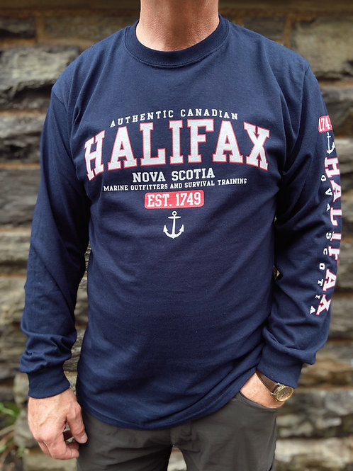 Halifax Long Sleeve T-Shirt | Tall Ships Trading Co.