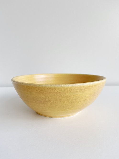 Yellow Cereal Bowl | Anderson Pottery