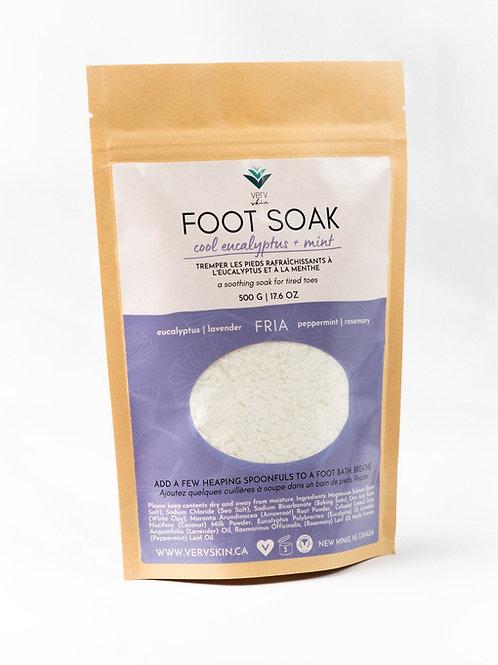 FRIA Foot Soak | Eucalyptus + Mint | Verv Skin