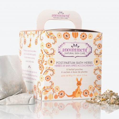 Postpartum Bath Herbs | Anointment