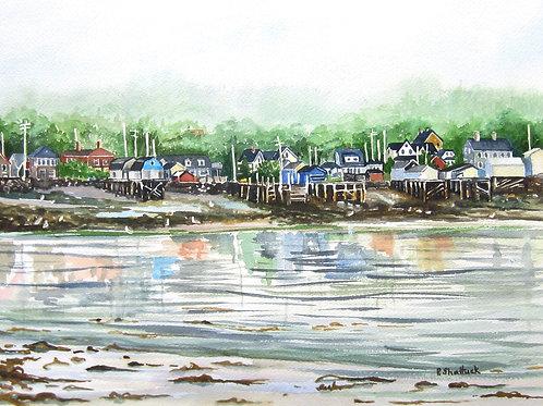 Westport, Brier Island - Original Painting | Pat Shattuck
