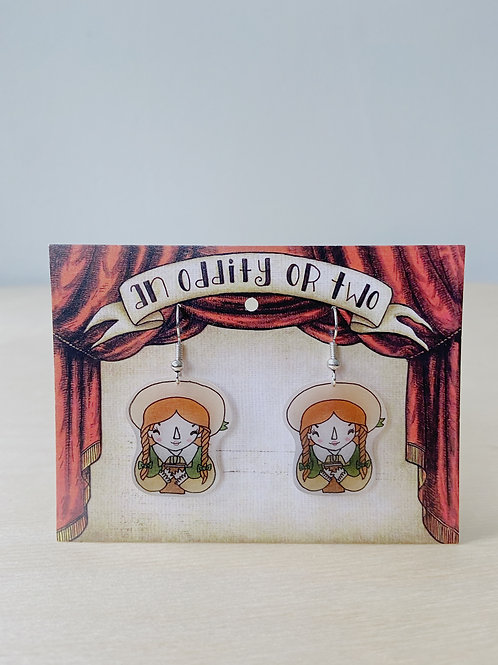 Anne of Green Gables Earrings | An Oddity of Two