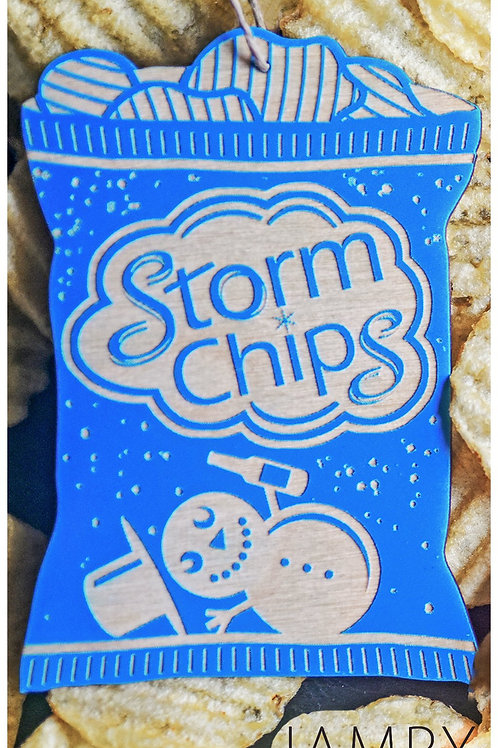 Blue Storm Chips Ornament | Jampy