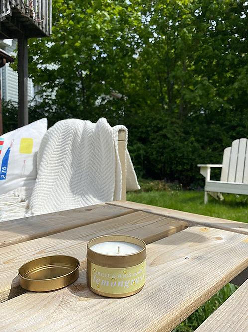 Lemongrass Candle | Circle & Wick Candle Co.