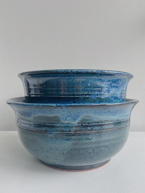 Sea Blue Bowls | Sea Winds Pottery