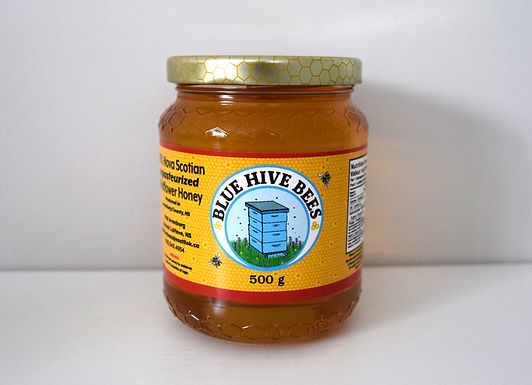 Blue Hive Bee