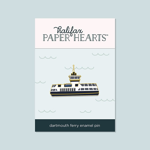 Dartmouth Ferry Pin | Halifax Paper Hearts