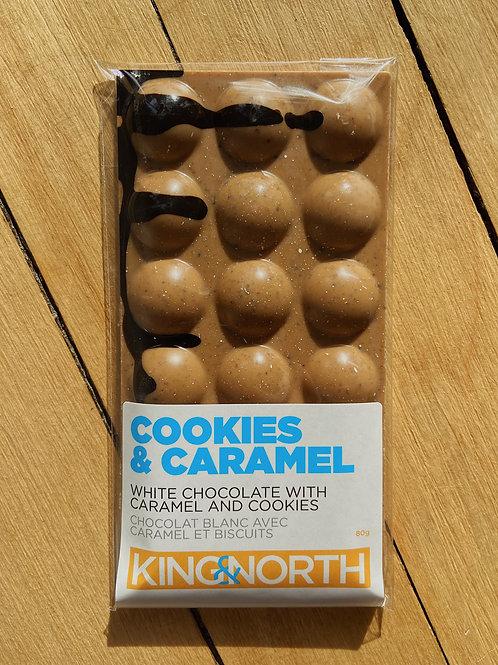 Cookies & Caramel Chocolate Bar | King & North Chocolate