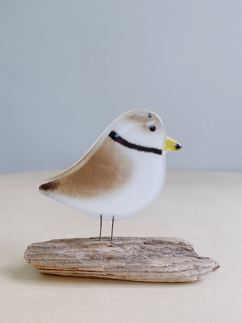 Large Standing Plover   The Glass Bakery