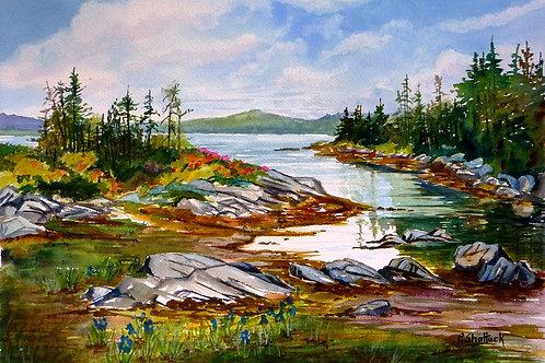 Still Waters- Original Painting   Pat Shattuck