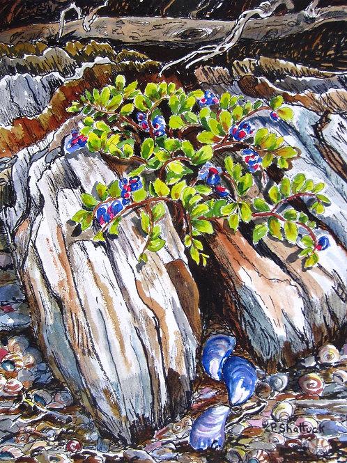 Rock and Blues- Original Painting | Pat Shattuck