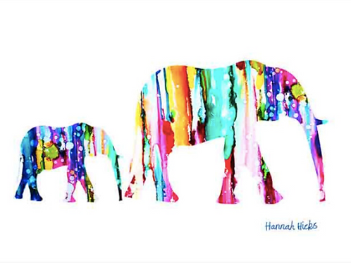 Elephant Card | Hannah Hicks