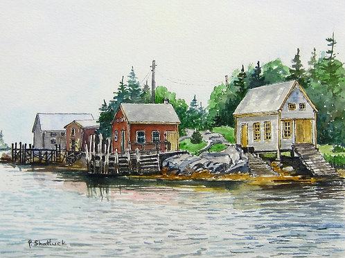 Wolf Island - Original Painting | Pat Shattuck