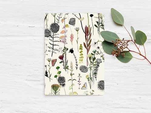 Botanical Pattern Card | Briana Corr Scott