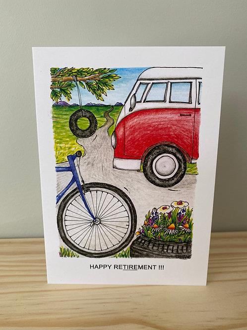 Happy Retirement Card | Helen Painter