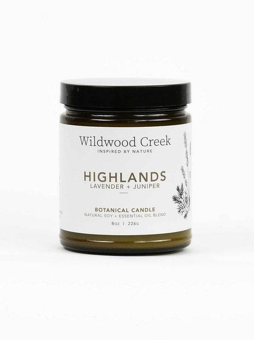Highlands Candle | Wildwood Creek