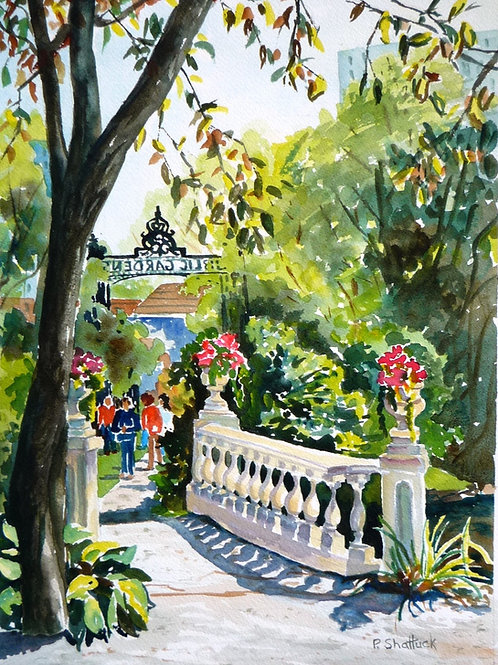 Out of the Fast Lane, The Public Gardens | Pat Shattuck
