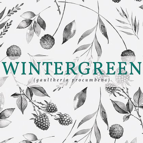 Wintergreen Candle   New Scotland Candle Co.