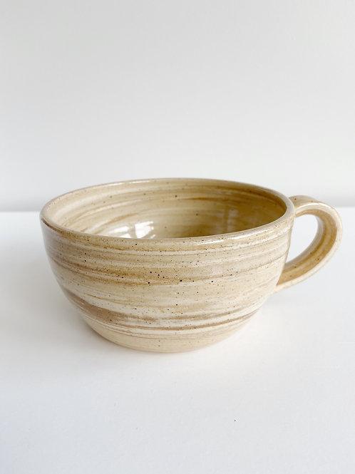 Marble Latte Mug   Anderson Pottery