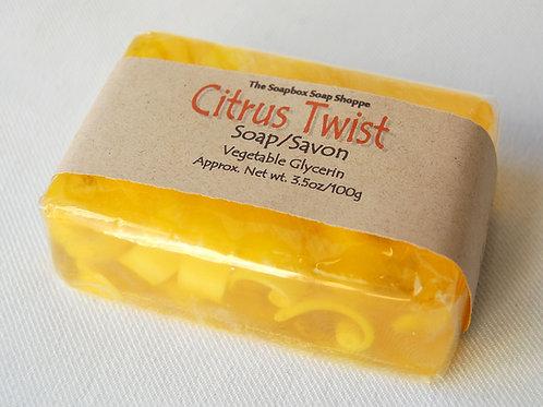 Citrus Twist Soap | The Soapbox Soap Shoppe