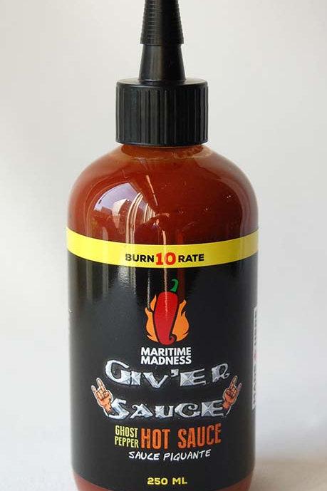 Giv'er Hot Sauce | Maritime Madness