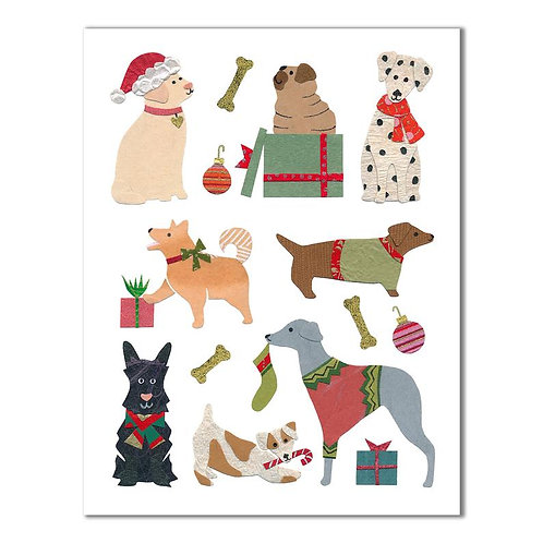 Holiday Dogs Card | Cards by Kate
