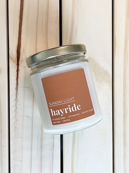 Hayride | Cider + Cinnamon + Brown Sugar + Berries + Vanilla | Sunday Light