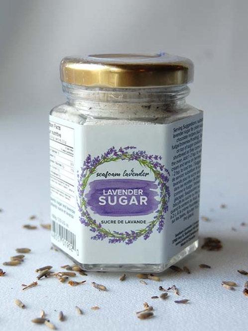Lavender Sugar   Seafoam Lavender Co.