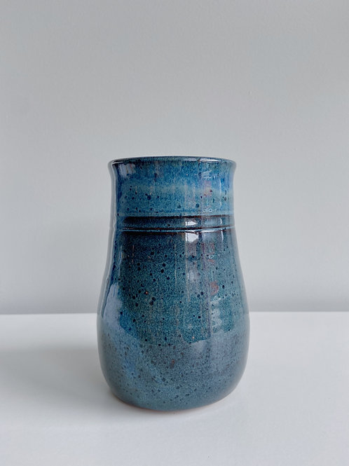 Sea Blue Vase | Sea Winds Pottery